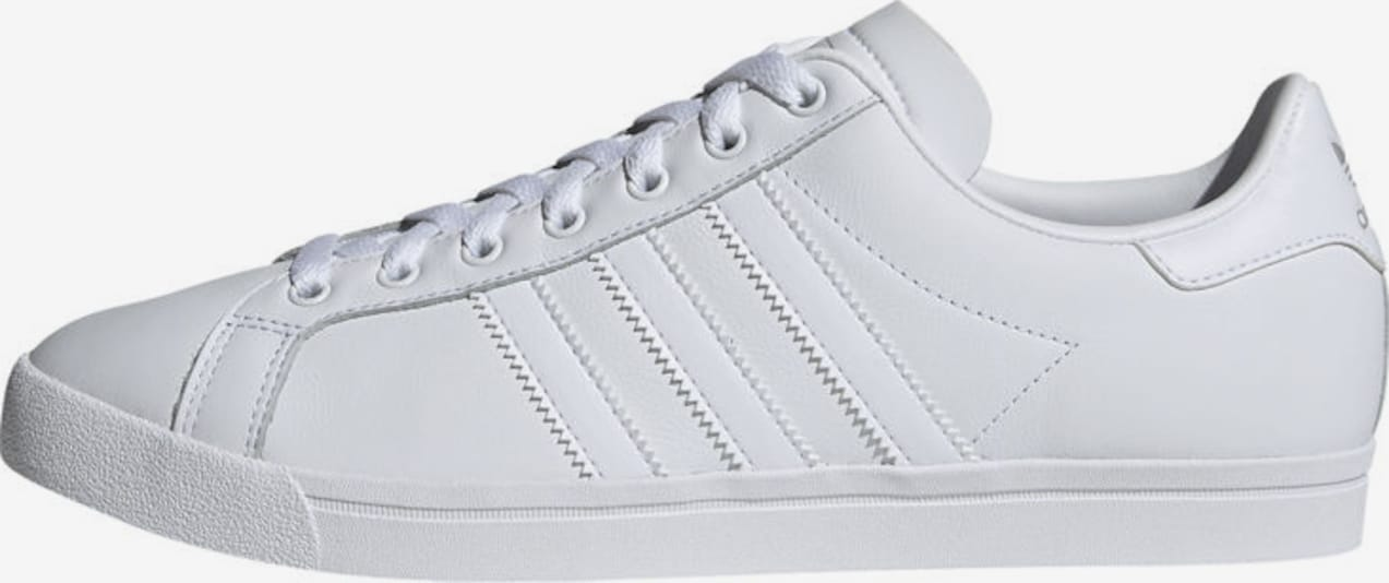 ADIDAS ORIGINALS Baskets basses 'Coast Star' en blanc, Vue avec produit