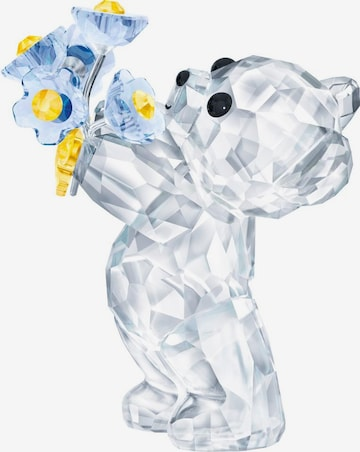 Swarovski Dekofigur 'Kris Bär – Vergissmeinnicht, 5427993' in Transparent