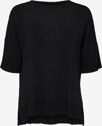 SELECTED FEMME T-Shirt in schwarz, Produktansicht