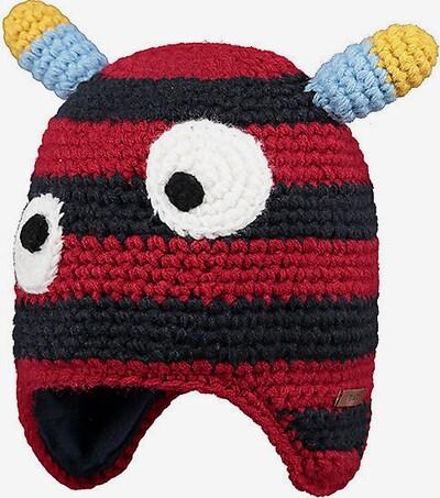 Barts Mütze 'Gopi' in hellblau / gelb / rot / schwarz / weiß, Produktansicht
