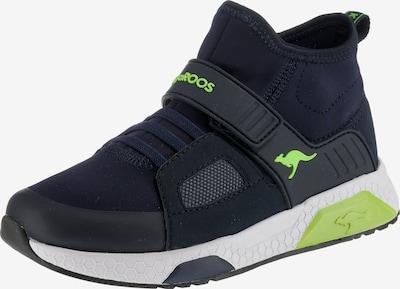 KangaROOS Sneakers 'KADEE MID EV' in nachtblau / kiwi, Produktansicht