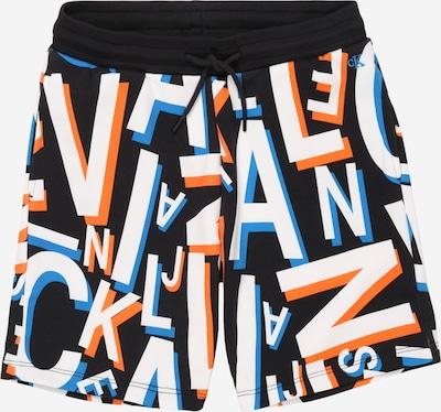 Calvin Klein Jeans Shorts 'LETTER AOP SWEATSHORT' in schwarz, Produktansicht