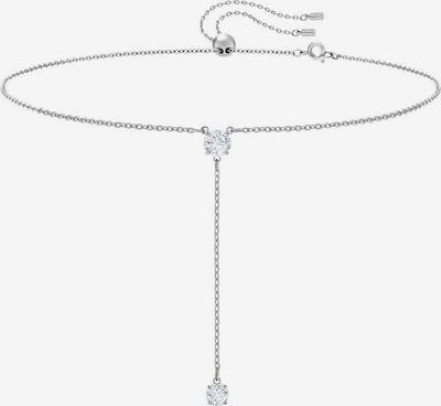 Swarovski Kette 'Attract' in silber / weiß, Produktansicht