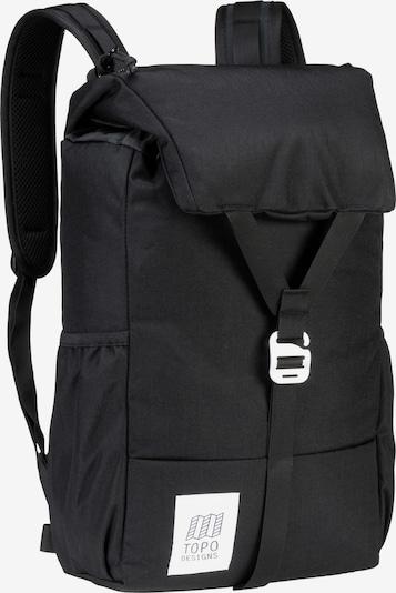 Topo Designs Rucksack in schwarz, Produktansicht