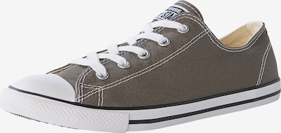 CONVERSE Sneaker in dunkelgrau: Frontalansicht