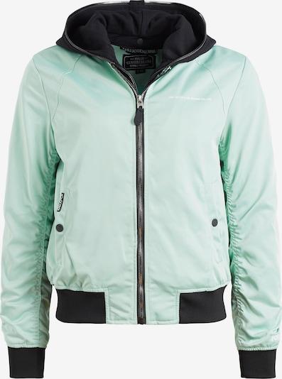 khujo Tussenjas ' SOHEILA ' in de kleur Groen / Mintgroen / Zwart, Productweergave