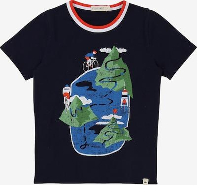 Billybandit Shirt in blau / grün / schwarz, Produktansicht
