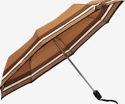 KNIRPS Regenschirm in karamell / hellbraun / schwarz, Produktansicht