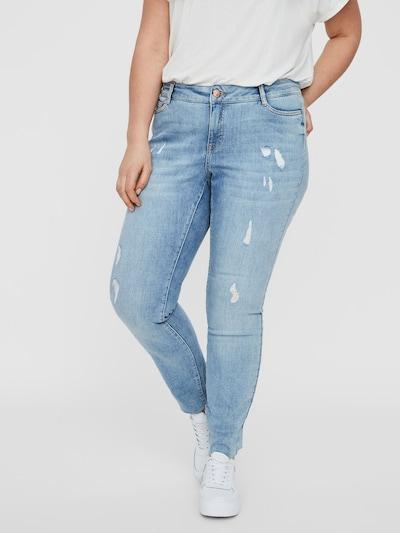 Junarose Jeans in blau: Frontalansicht