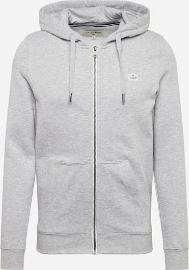 TOM TAILOR DENIM Sweatshirt in graumeliert, Produktansicht