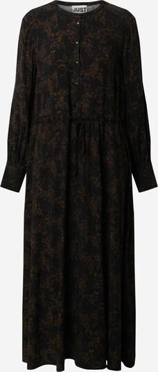 JUST FEMALE Kleit 'Hattie' pruun / must, Tootevaade