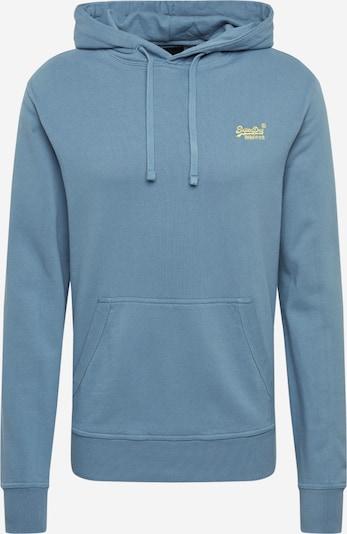 Superdry Sweat-shirt en bleu fumé, Vue avec produit