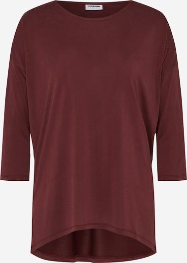 Noisy may T Shirt in burgunder, Produktansicht