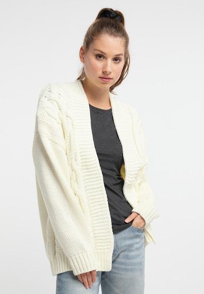 MYMO Strickjacke in weiß, Modelansicht