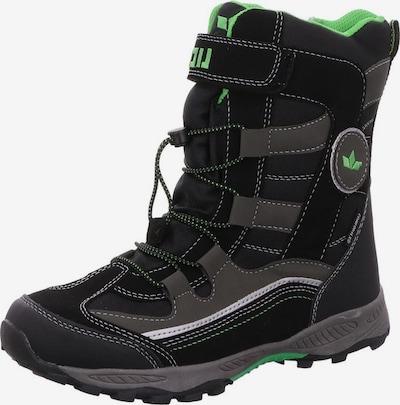 LICO Snowboots in de kleur Antraciet / Zwart, Productweergave