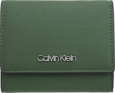 Calvin Klein Geldbörse 'CK MUST TRIFOLD XS' in dunkelgrün, Produktansicht