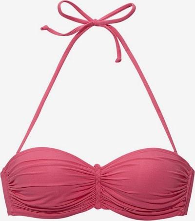 Top per bikini BUFFALO di colore rosa: Vista frontale