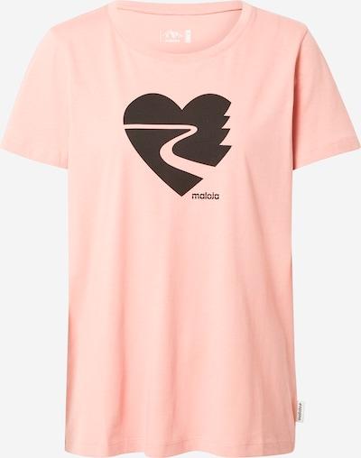 Maloja T-shirt fonctionnel 'Rigpa' en rose / noir, Vue avec produit