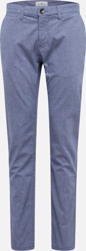 TOM TAILOR Chino in blau: Frontalansicht