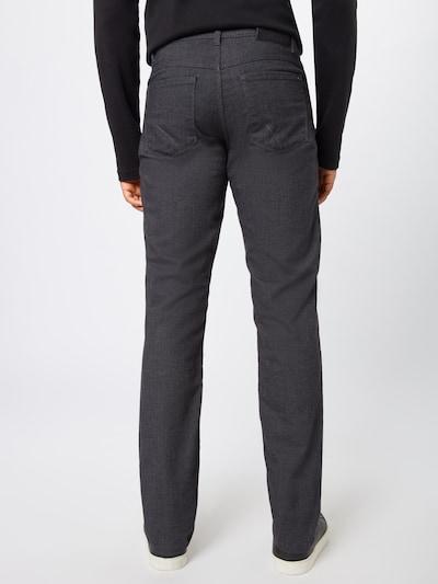 Kelnės 'cooper' iš BRAX , spalva - tamsiai pilka: Vaizdas iš galinės pusės