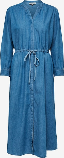 SELECTED FEMME Kleid in blue denim, Produktansicht