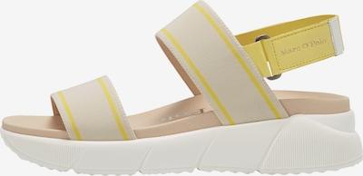 Marc O'Polo Sandale in gelb / naturweiß, Produktansicht