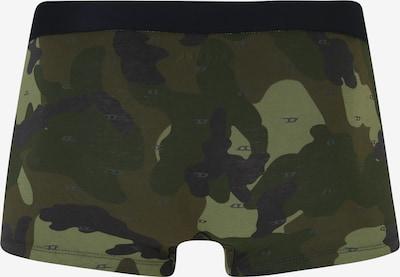 DIESEL Boxershorts 'UMBX-DAMIENTHREEPACK Boxer 3pa' in oliv / schwarz: Rückansicht