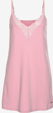 LASCANA Negligée 'Anemone' i rosa