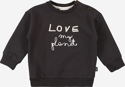 Sanetta Pure Sweatshirt in anthrazit / weiß: Frontalansicht