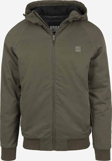 Urban Classics Hooded Jacket in oliv: Frontalansicht
