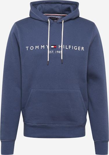 TOMMY HILFIGER Majica | golobje modra / bela barva, Prikaz izdelka