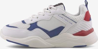 TOM TAILOR Shoes Sportlicher Sneaker mit reflektierenden Details in weiß, Produktansicht