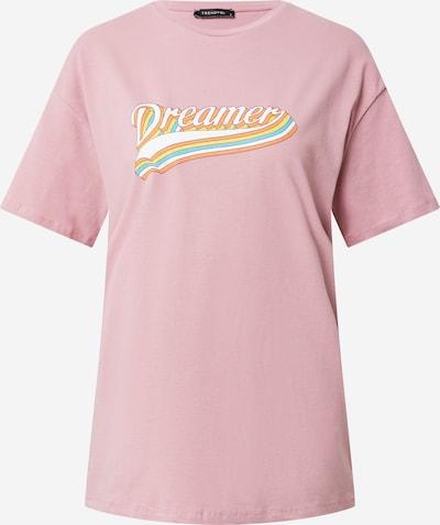 világoskék / sárga / narancs / rózsaszín / fehér Trendyol Póló: Elölnézet