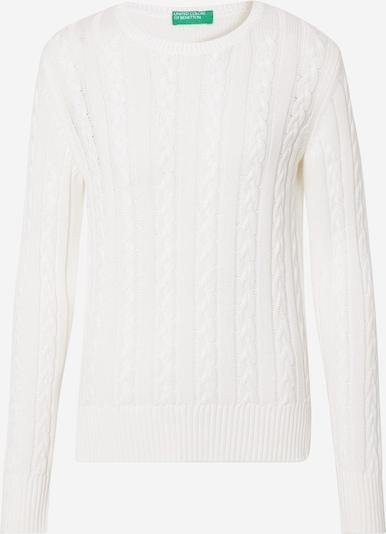UNITED COLORS OF BENETTON Sweatshirt in weiß, Produktansicht