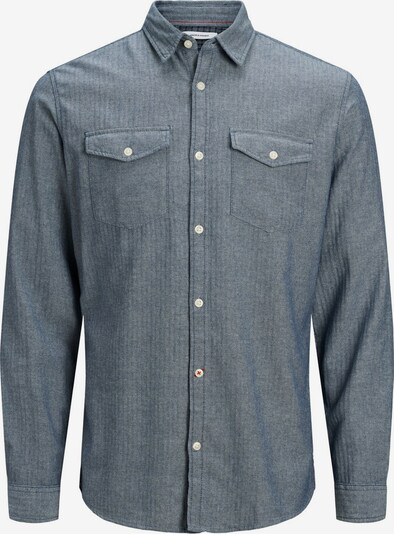 JACK & JONES Koszula w kolorze gołąbkowo niebieskim, Podgląd produktu