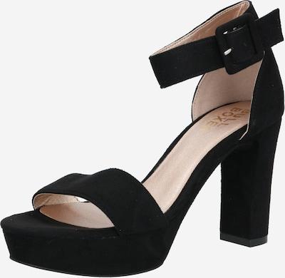 BULLBOXER Sandaler med rem i sort, Produktvisning