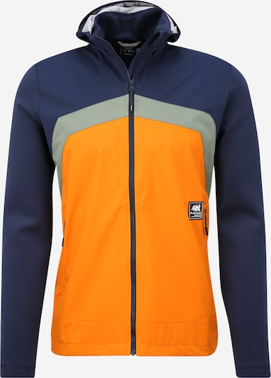 Maloja Jacke in nachtblau / orange, Produktansicht