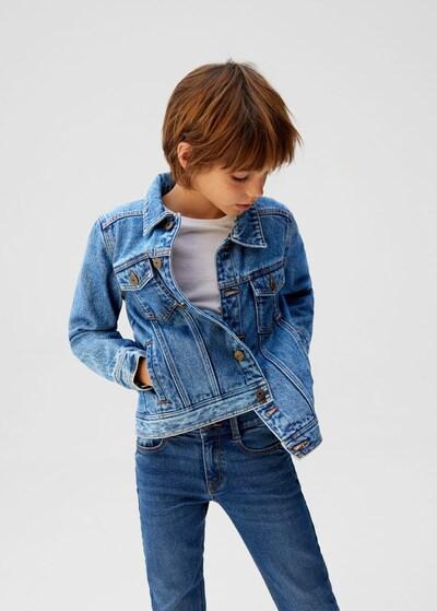 MANGO KIDS Jacke 'john' in kobaltblau: Frontalansicht