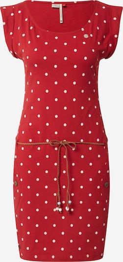 Ragwear Kleid in rot / offwhite, Produktansicht