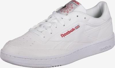 Reebok Classic Sneakers laag 'Club C 85' in de kleur Rood / Wit, Productweergave