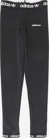 ADIDAS ORIGINALS Leggings 'Poly' in schwarz / weiß: Frontalansicht