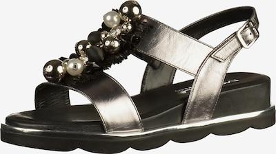 MOT-CLè Sandalen in schwarz / silber, Produktansicht