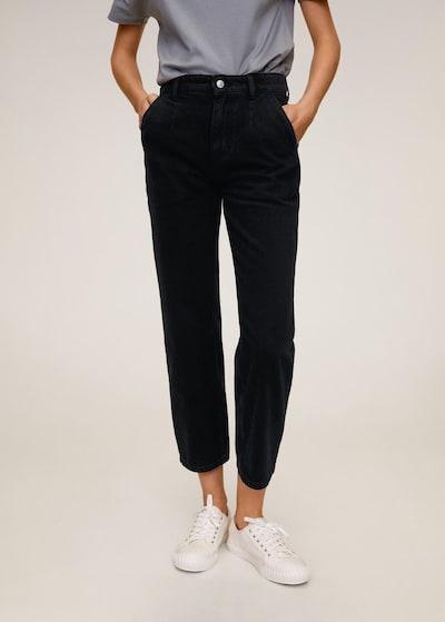 MANGO Jeans chino in schwarz, Modelansicht