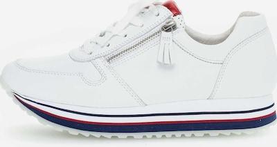 GABOR Sneaker in rot / weiß, Produktansicht