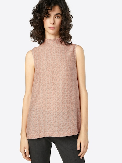 OPUS Bluse 'Feeli' in rosé / weiß: Frontalansicht