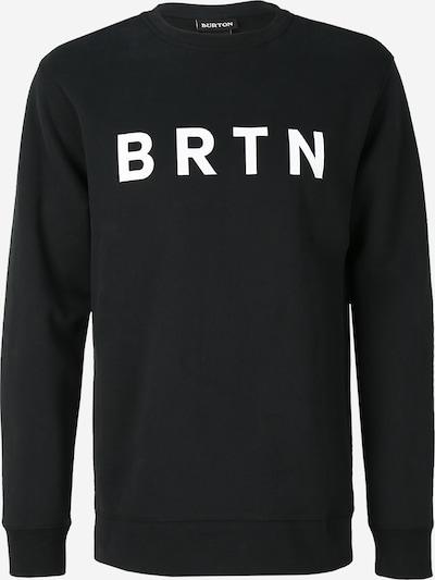 fekete / fehér BURTON Sport szabadidős felsők 'Crew', Termék nézet