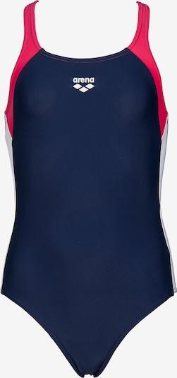 ARENA Badeanzug 'Ren' in navy / dunkelpink, Produktansicht