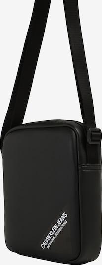 Calvin Klein Jeans Sac à bandoulière 'STITCH' en noir, Vue avec produit