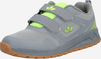 LICO Sneaker 'Cricket V' in zitrone / grau, Produktansicht