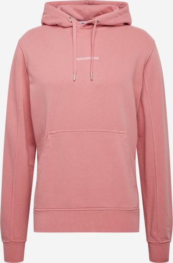 Bluză de molton 'INSTIT' Calvin Klein Jeans pe roz, Vizualizare produs